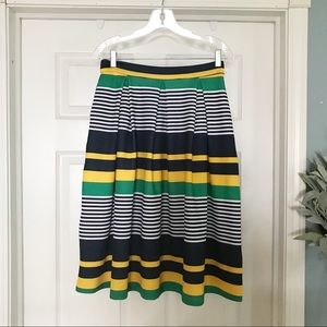 7th Avenue New York & Company striped skirt size 2